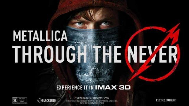"METALLICA w artykule ESKAROCK: DVD METALLICA ""THROUGH THE NEVER"" DO ZGARNIĘCIA!"