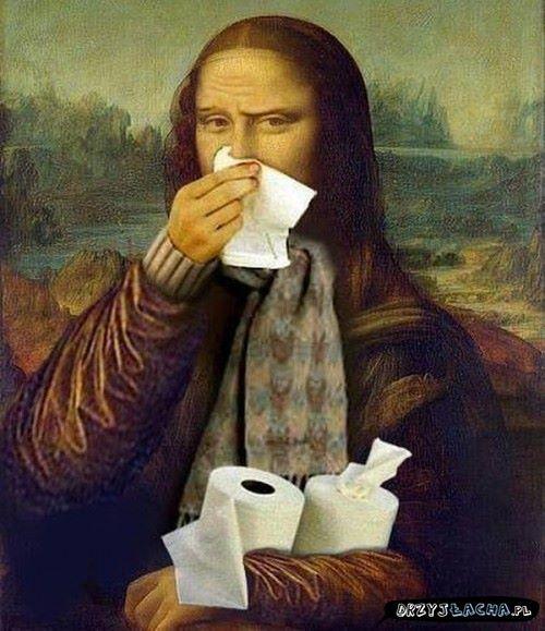 Mona przeziębiona