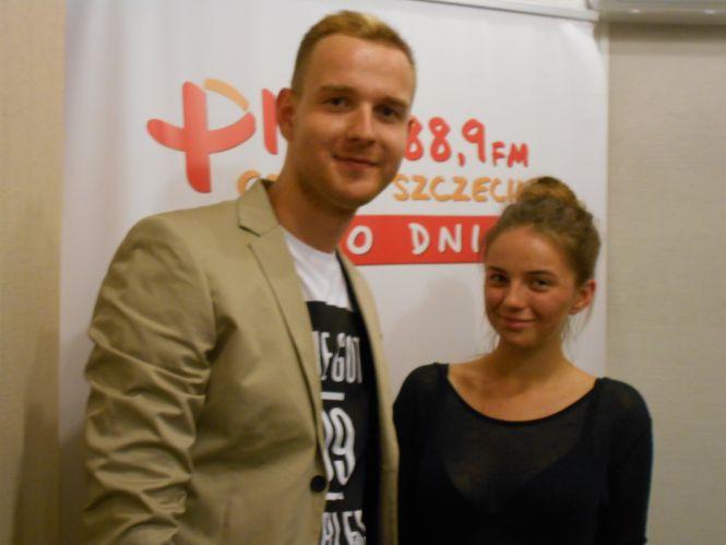 blogerzy modowi  Joanna Szewczak i Łukasz Czub