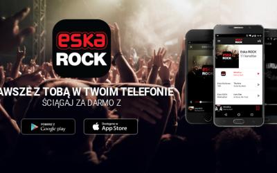 Ściągnij sobie nową apkę i słuchaj Eski ROCK wszędzie!
