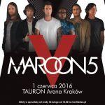 Maroon 5 w Polsce - setlista koncertu 1.06.2016. Co zagrali?