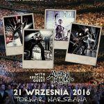 Nickelback w Polsce 2016: rozpiska godzinowa koncertu