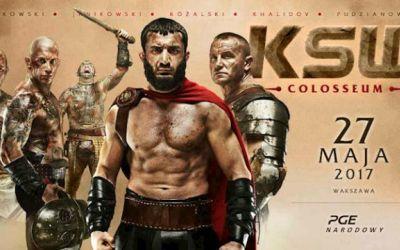 Zgarnij zaproszenia na galę 'KSW Colosseum'