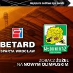Sparta Wrocław vs. Włókniarz Częstochowa [SPORT WROCŁAW] ,Stadion Olimpijski we Wrocławiu ,Wrocław