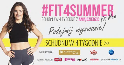 Weź udział w czerwcowym wyzwaniu #Fit4Summer