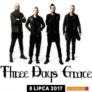 THREE DAYS GRACE - koncert Warszawa