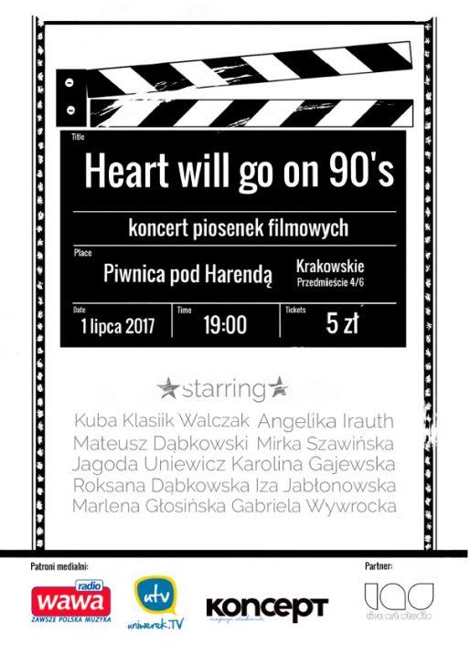 """Z początkiem lipca scena Piwnicy pod Harendą zmieni się w """"ekran kinowy"""""""