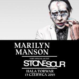 MARILYN MANSON / STONE SOUR - koncert WARSZAWA