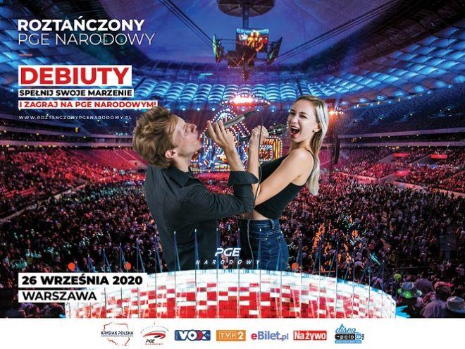 Roztańczony PGE Narodowy 2020. Jak zgłosić się do konkursu debiutów?