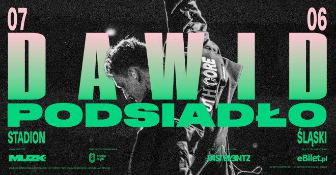 Dawid Podsiadło ogłosił kolejny duży koncert, który odbędzie się na Stadionie Śląskim w Chorzowie