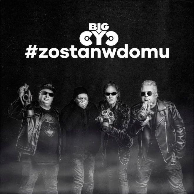 Grupa Big Cyc znana wszystkim ze swojej pozytywnej twórczości muzycznej dołączyła do wszystkich polskich artystów, którzy włączają się do akcji #zostańwdomu
