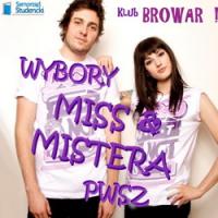 Wybory Miss i Mistera PWSZ, IMPREZA PIŁA, Klub Browar, Piła
