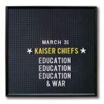 "Kaiser Chiefs ""Misery Company"" - nowa piosenka z płyty ""Education, Education & War""! [2014, AUDIO]"