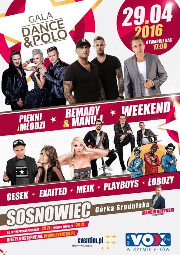 Gala Dance&Polo w Sosnowcu