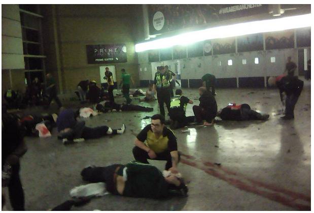 Samobójczy zamach w Manchesterze