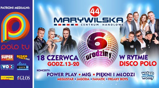 6 urodziny Marywilskiej 44 | Koncert w Rytmie Disco Polo