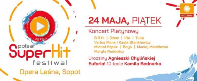 Zespół Boys na Polsat SuperHit Festiwal!