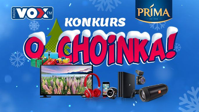 O, Choinka! Codziennie deszcz prezentów dla Was!
