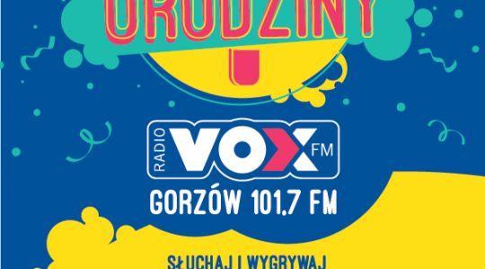 Pierwsze urodziny VOX FM GORZÓW 101,7 FM!